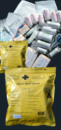 First Aid Kit SOLAS  for Liferaft and lifeboat